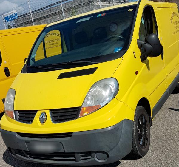 Renault Trafic 8m3