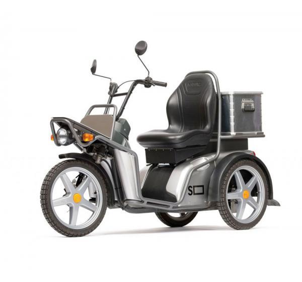 Scooter electrique Kyburz 3 roues avec/sans remorque